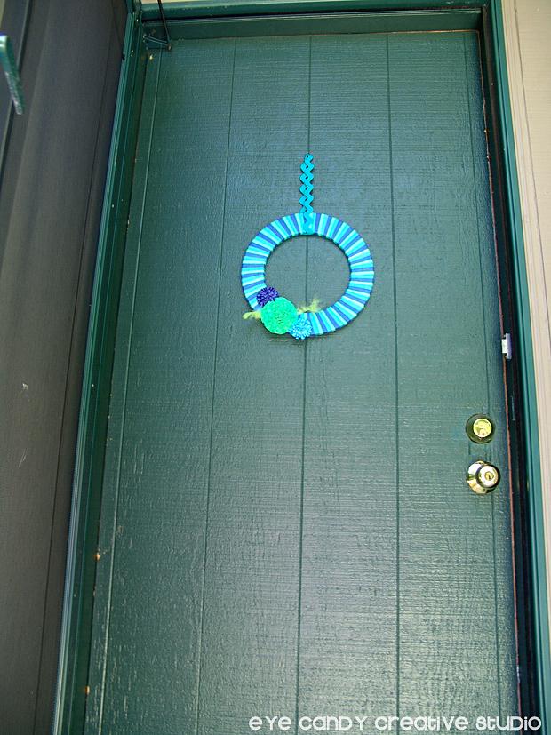 classic before shot, repainting front door, front door makeover