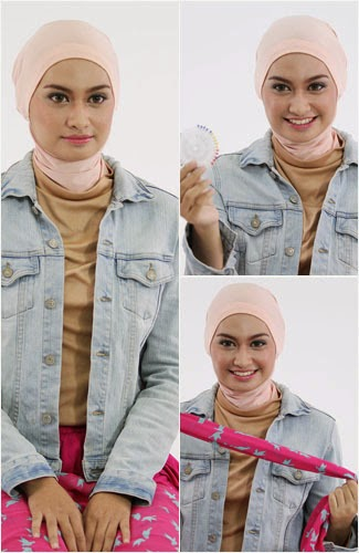 Model Jilbab Pashmina Terbaru Yang Simpel dan Modis