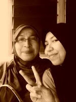 with my mom TERSAYANG
