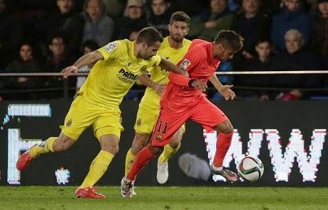 Copa del Rey ; Barcelona Hajar Villlareal 3-1