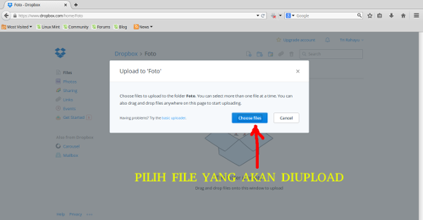 dropbox-pilih-file-upload