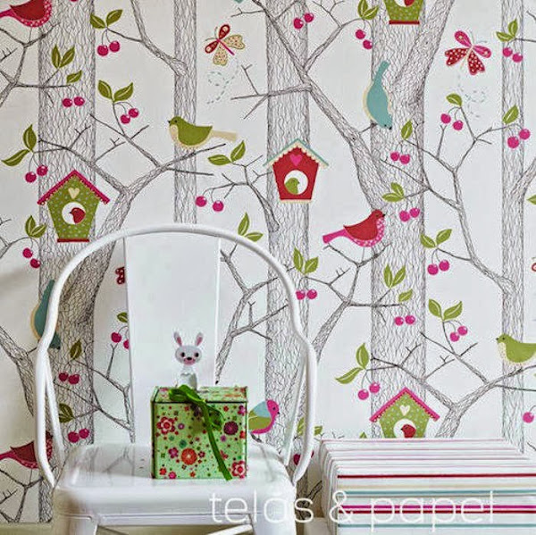 Papel pintado dormitorio decorar tu casa es - Decorar papel pintado ...