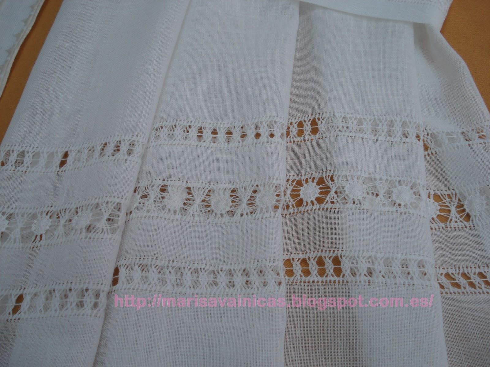 El arte de bordar vainicas cortinas con vainicas - Como hacer visillos ...