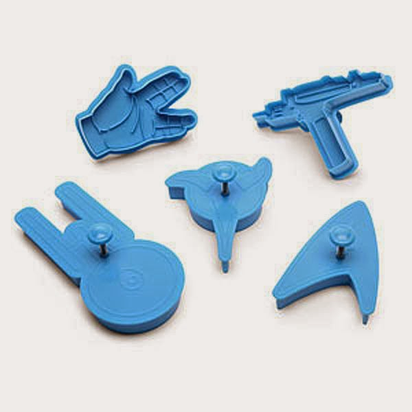Moldes de Galletas Star Trek