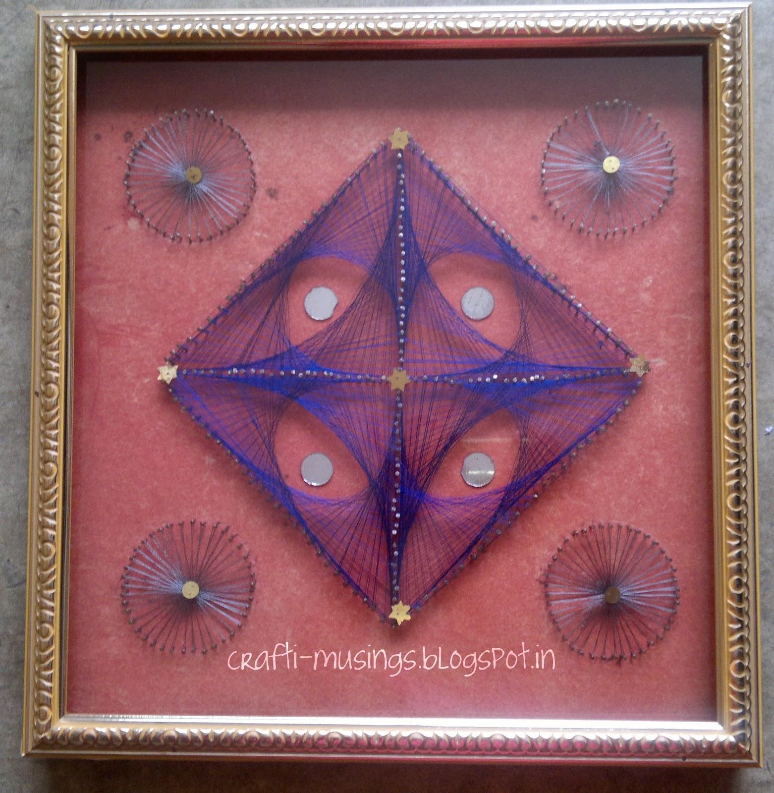 Crafti Musings String Art Treasures