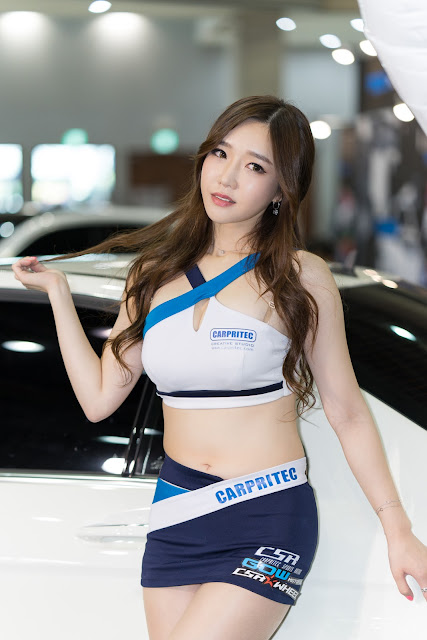 4 Lee Hwa Ri - Automotive Week 2015 - very cute asian girl-girlcute4u.blogspot.com