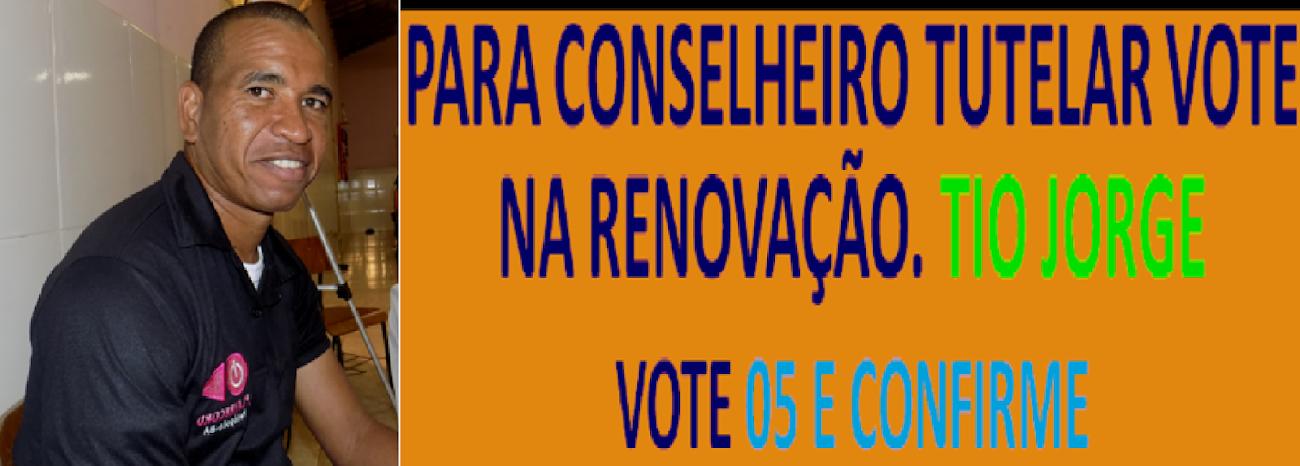 VOTE PARA CONSELHEIRO TUTELAR EM TIO JORGE