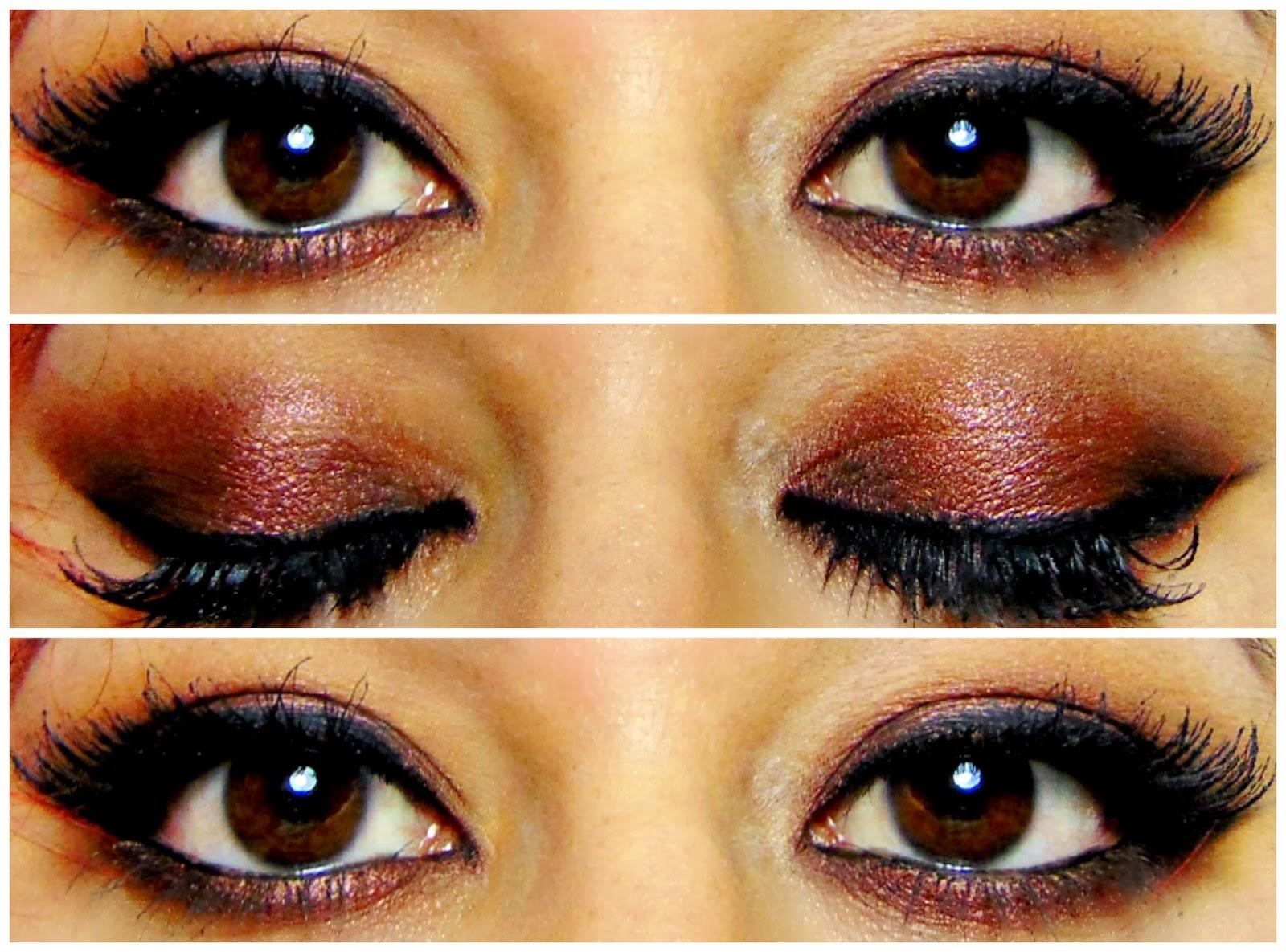 Dark copper eyes tutorial using iconic pro 1 chocolate lipstick dark copper eyes tutorial using iconic pro 1 baditri Gallery