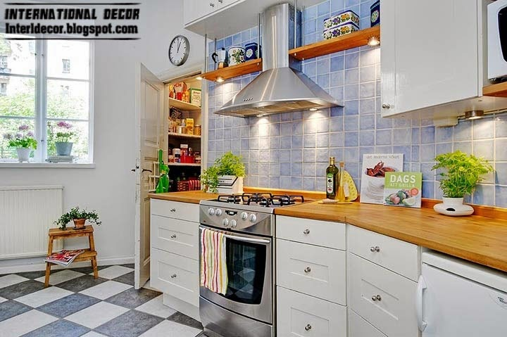 Scandinavian kitchen style and design, small kitchen