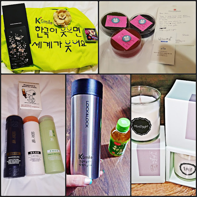 Souvenirs and gifts from KTO, other VIP members   and my Korean friend. | www.meheartseoul.blogspot.com
