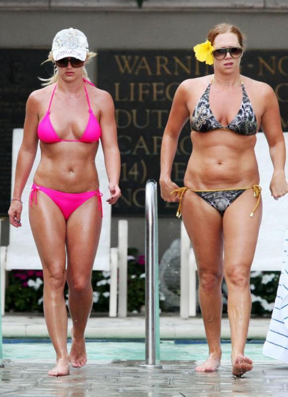 Britney Spears Pink Bikini