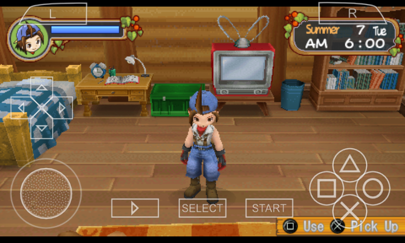 Cara Cheat HARVEST MOON Hero of Leaf Valley Android ~ ALL IN ONE