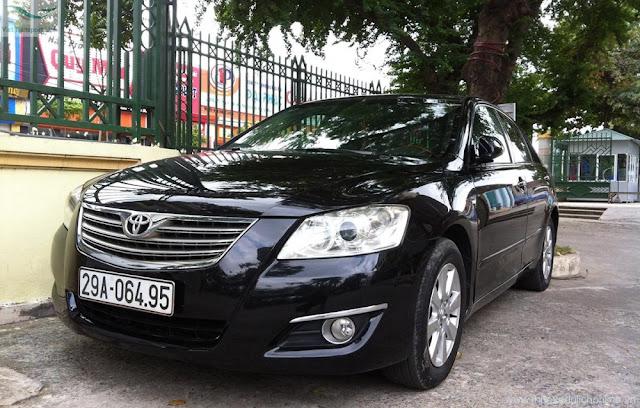 Cho thuê xe ở tại Ninh Bình- Camry