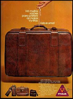 malas década de 70; década de 70. os anos 70; propaganda na década de 70; Brazil in the 70s, história anos 70. Oswaldo Hernandez;