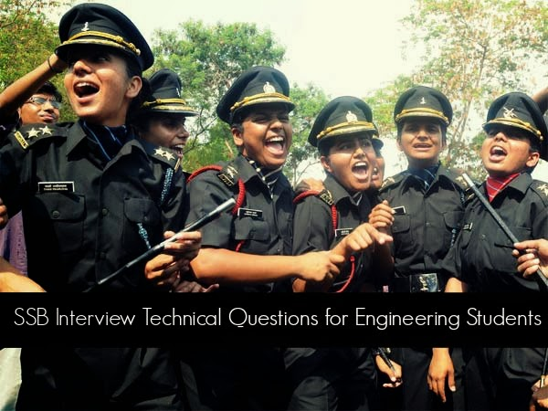 SSB Interview Technical Questions for Engineering Students