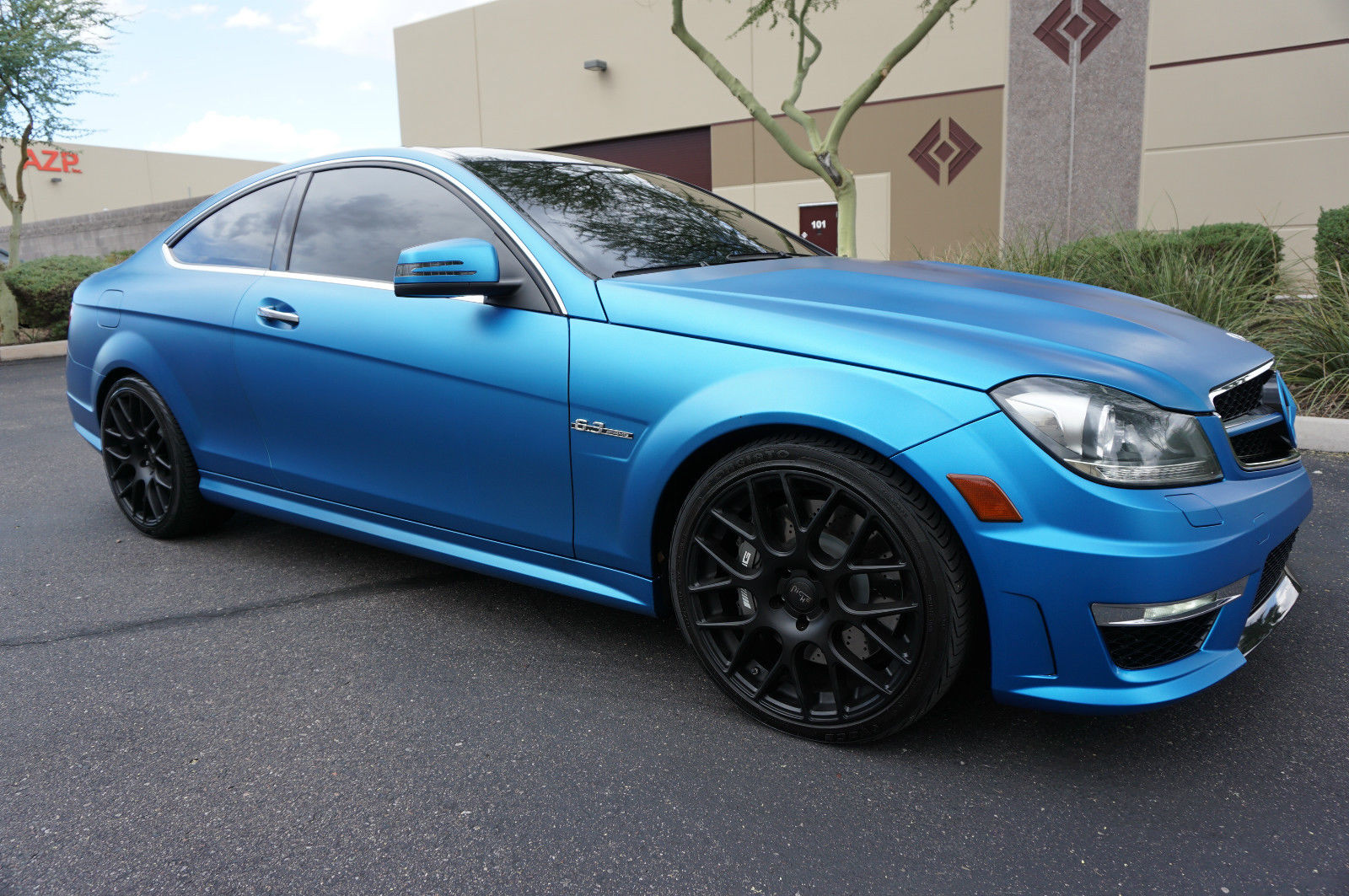 Mercedes benz c63 amg coupe on niche wheels benztuning for Amg wheels for mercedes benz