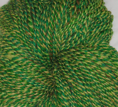 https://www.etsy.com/listing/152675464/green-tweed-alpaca-handspun-yarn-wool