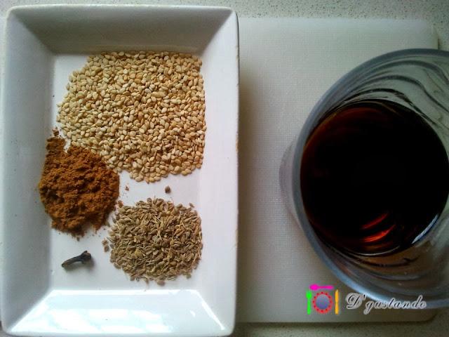 Moscatel y especias, la esencia de la receta