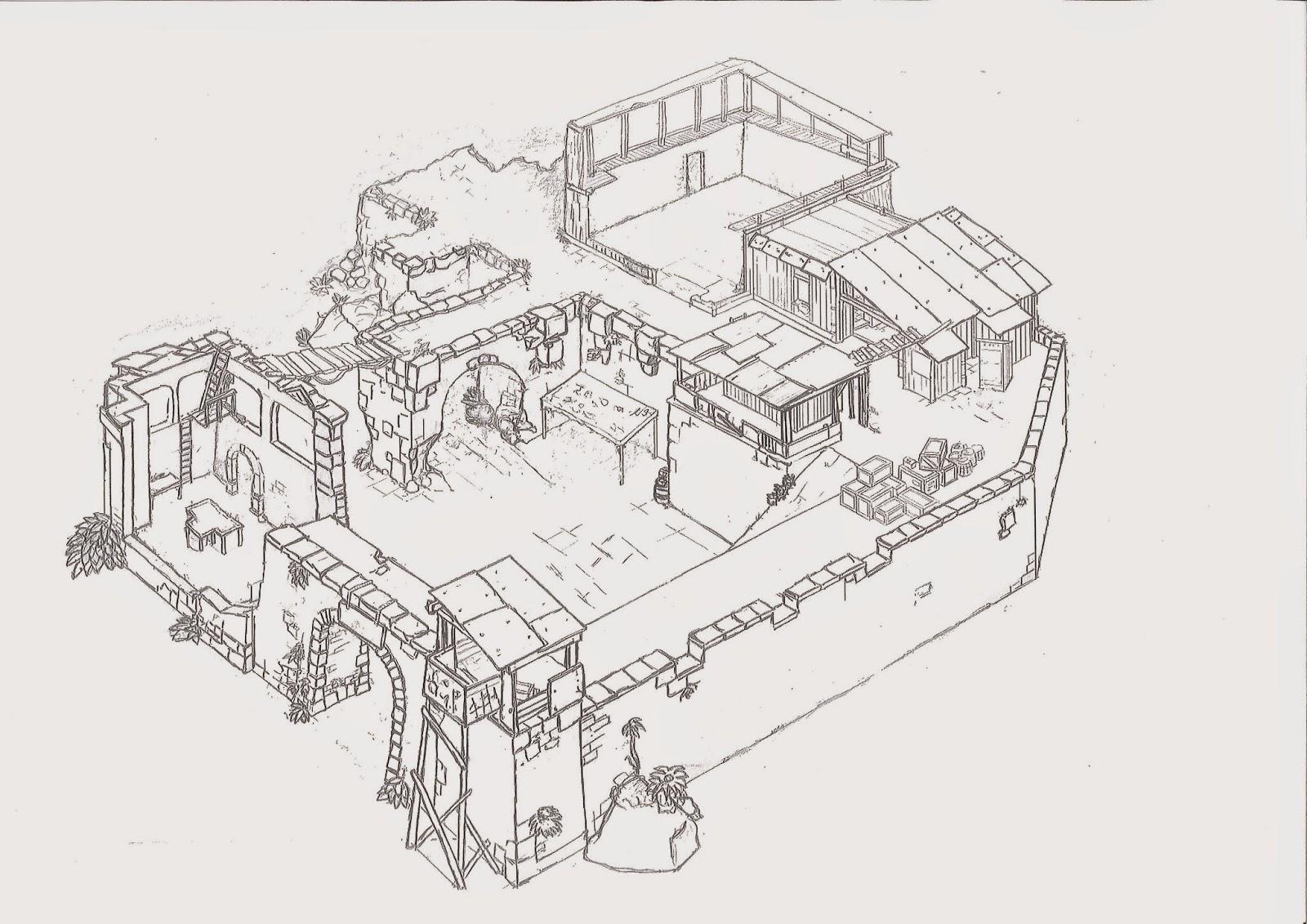[Ayuda de Juego] El Fortín usurpado. Mapa