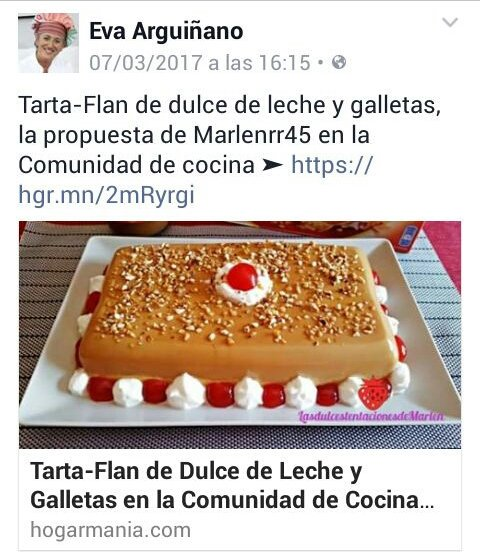 Mi receta publicada por @Eva Arguiñano en su comunidad @hogarmania