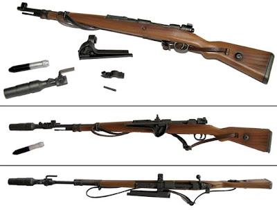 На фото: винтовка системы Маузера