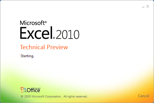 Studio DesigneRMicrosoft Office Excel 2010 Logo