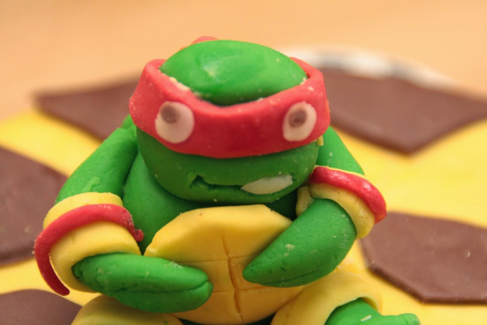tortue ninja en sucre