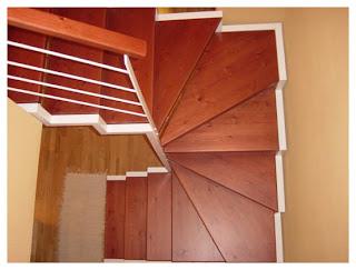 Escaleras de interior a medida escaleras de interiores for Escaleras en lugares pequenos