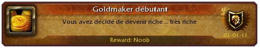 devenir riche dans wow