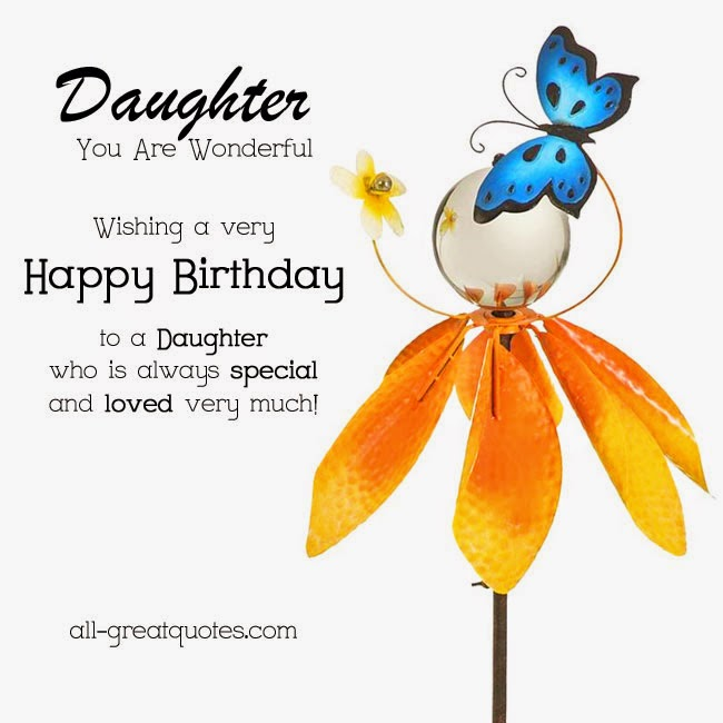 Every Thing Knowledge Birthday Wishes Daughter