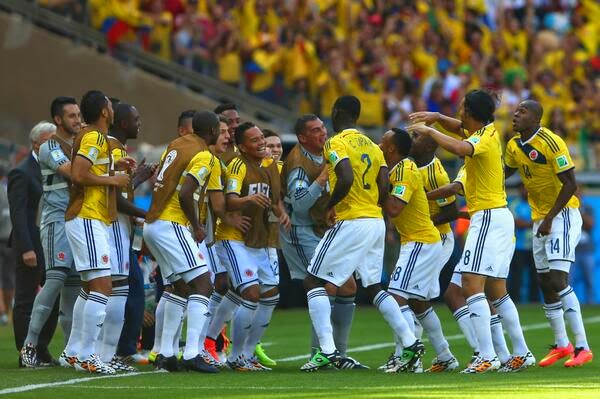 Hasil Pertandingan Grup C Kolombia 3-0 Yunani