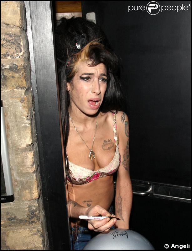 Photos nues d'amy winehouse