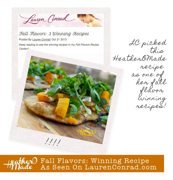 Fall Flavors: Winning Recipe As Seen On LaurenConrad.com