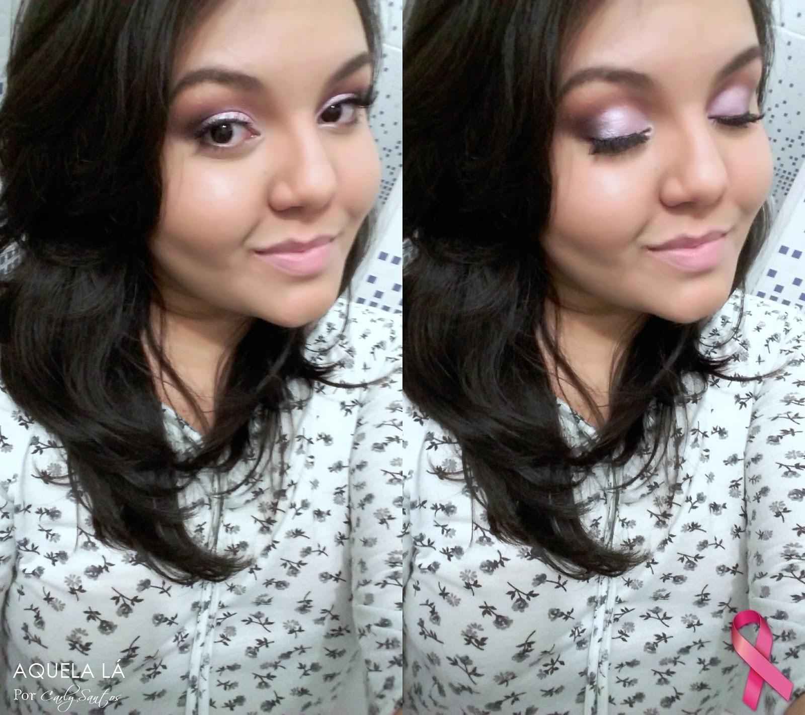 Maquiagem rosa quartzo, pantone, outubro rosa 2015, maquiagem rosinha, suave e delicada