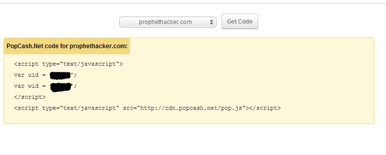 popcash get code
