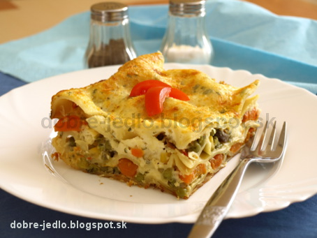 Zeleninové lazane - recepty