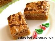 Jablkovo-orechový krémeš - recept