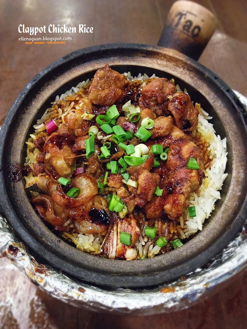 Cuisine paradise singapore food blog recipes reviews and travel claypot chicken rice sg500 per serving forumfinder Images