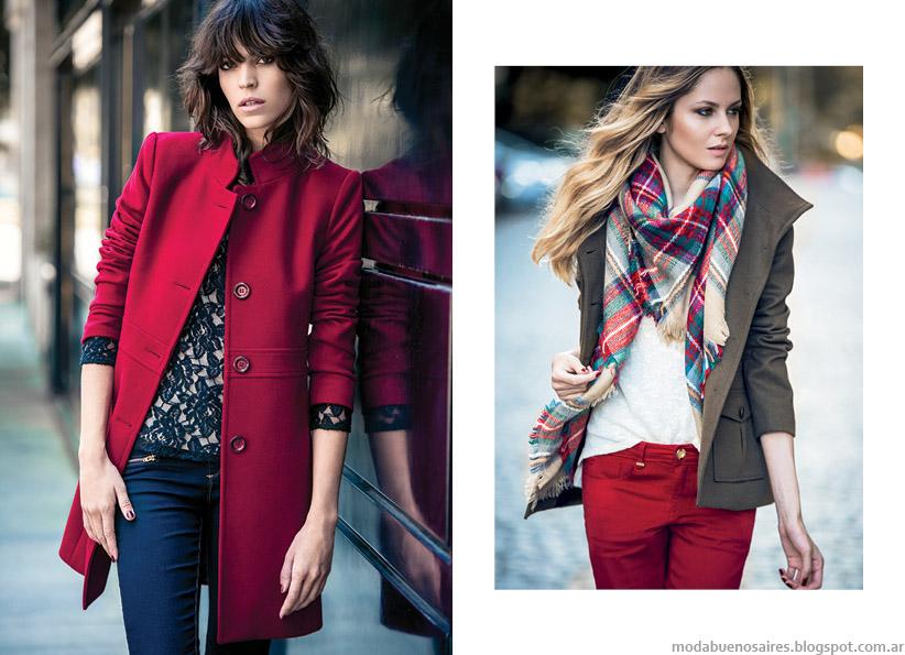 Markova otoño invierno 2015 tapados, camperas, pantalones, camisas.