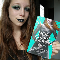 Latest book inspired make-up tutorial