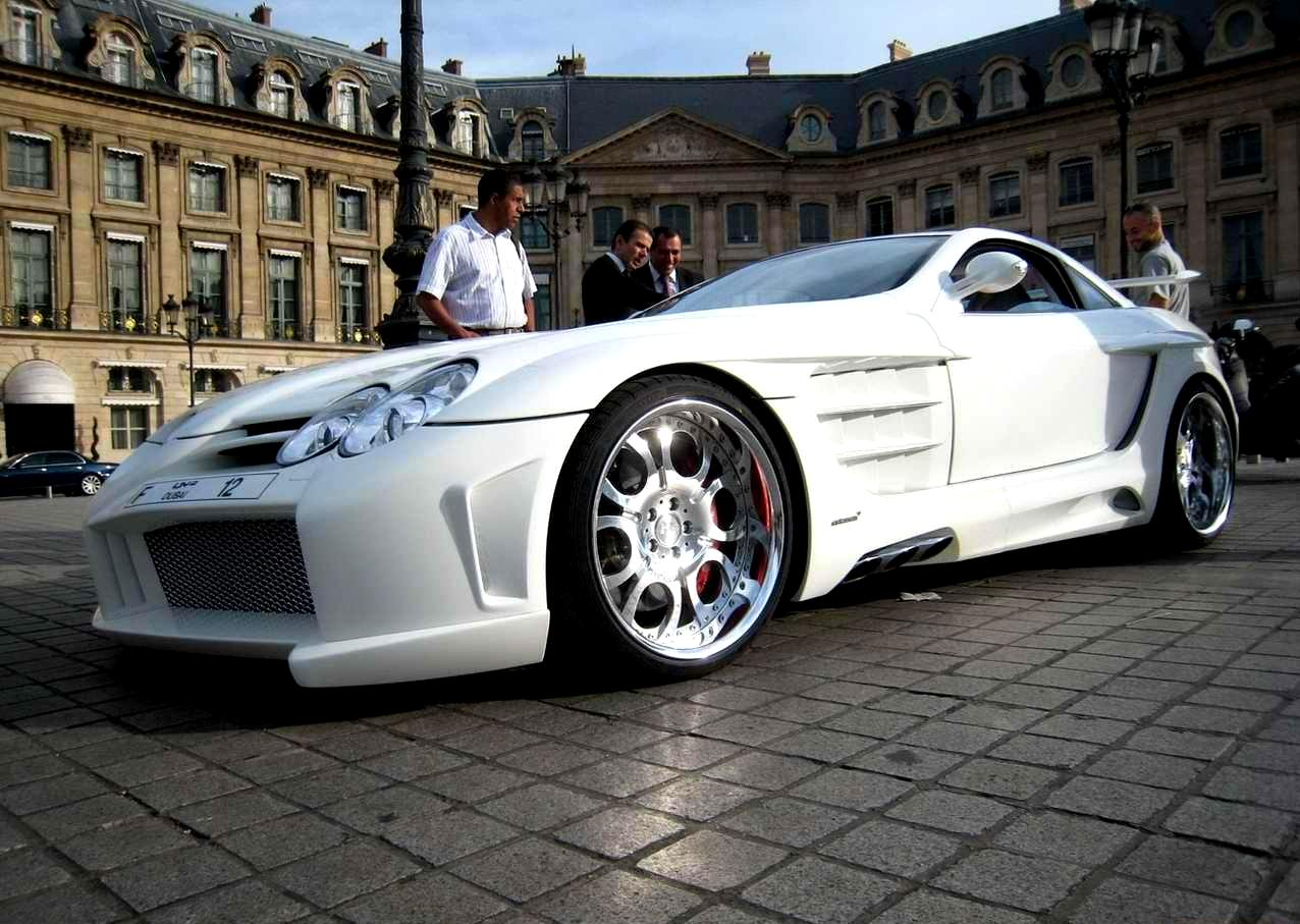 Tuning Cars And News Mercedes Mclaren Slr Tuning