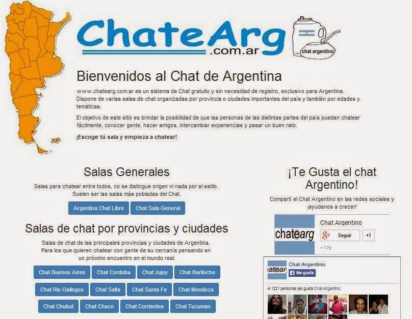 Paginas de chat de argentina