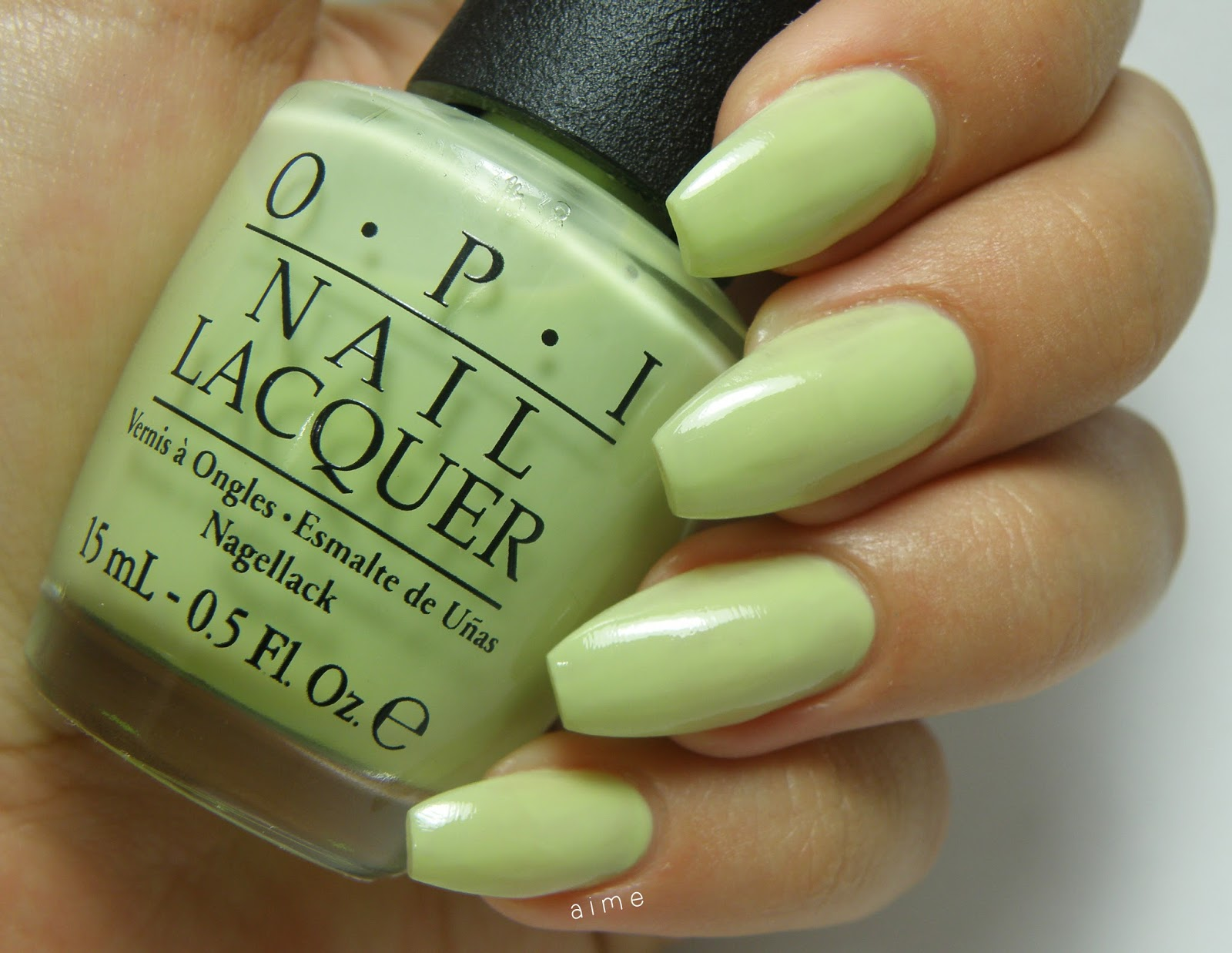 Al infinito y más esmalte: Swatch: Gargantuan Green Grape de Opi