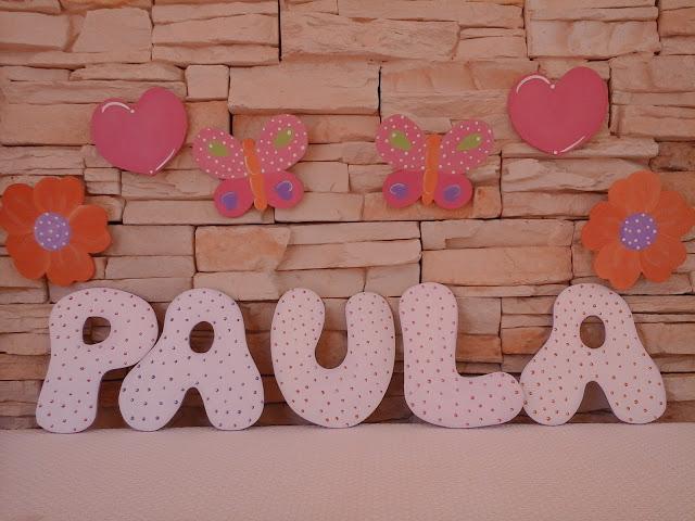 Letras decorados imagui - Letras bebe decoracion ...