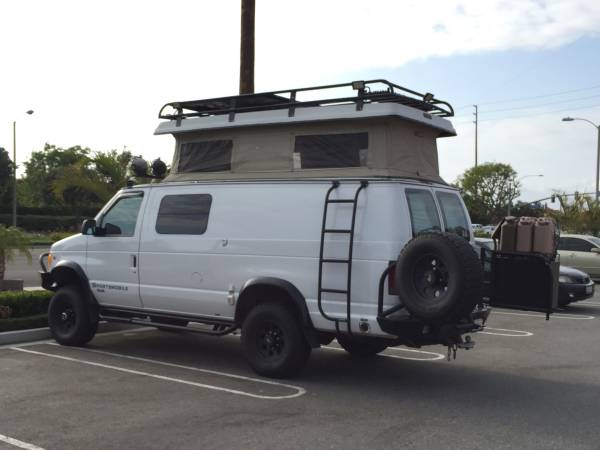 Vw Clean Diesel >> Used RVs 2002 Ford E350 Sportsmobile 4x4 Camper For Sale ...