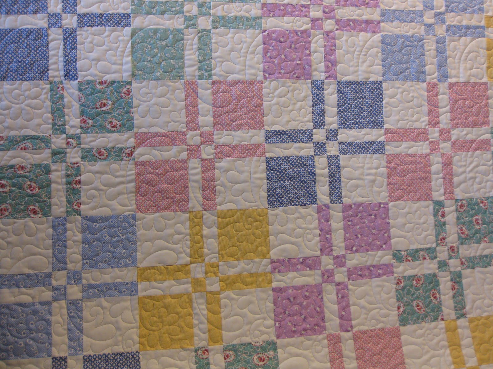 Millies Quilting Dissapearing Four Patch Quilt