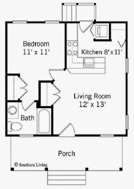 Contoh Gambar Denah Rumah Sederhana