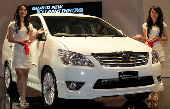 Harga Toyota Kijang Innova 2012, Jakarta, Bogor, Depok, Tangerang
