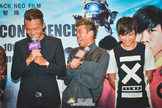 Candid moment captured during The Lion Men: Ultimate Showdown 《狮神决战之终极一战》PC