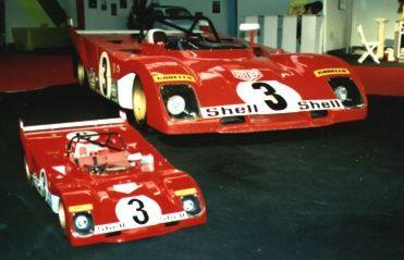 New Ferrari 70 Scale Models 8
